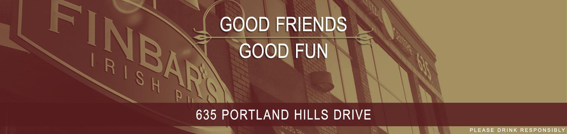 Good friends, good fun.