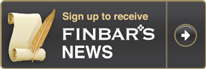 Finbar's Newsletter Signup button