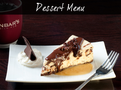 Dessert Menu button