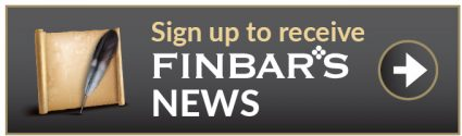 Sign up to receive Finbar's news